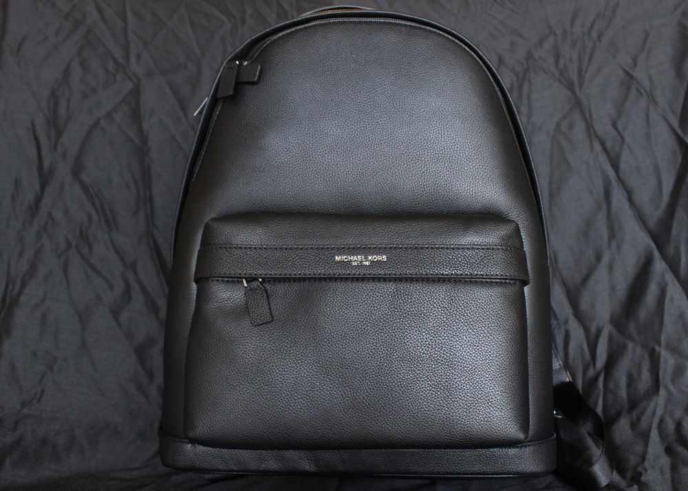 6b8ba39e701a MICHAEL KORS MENS / UNISEX RUSSEL PEBBLED LEATHER BACKPACK BOOK BAG CAMPUS  BAG #fashion #clothing #shoes #accessories #mensaccessories #bags (ebay  link)