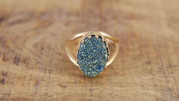 Womens Jewelry Big Stone Ring Gold Stone Ring Handmade Etsy Women Jewelry Big Stone Ring Beautiful Jewelry