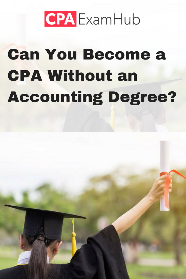Is It Possible To Become A Cpa Without An Accounting Degree Requirements Collegedegree Cpa Accountingdegree Accou Accounting Degree Accounting Cpa Exam