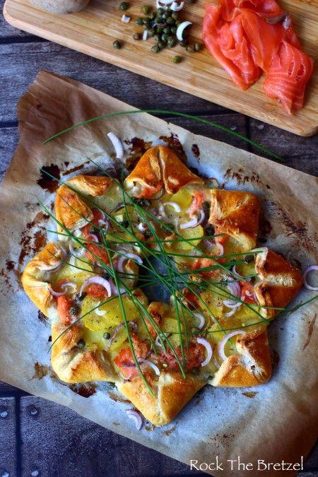 Pizza soleil saumon