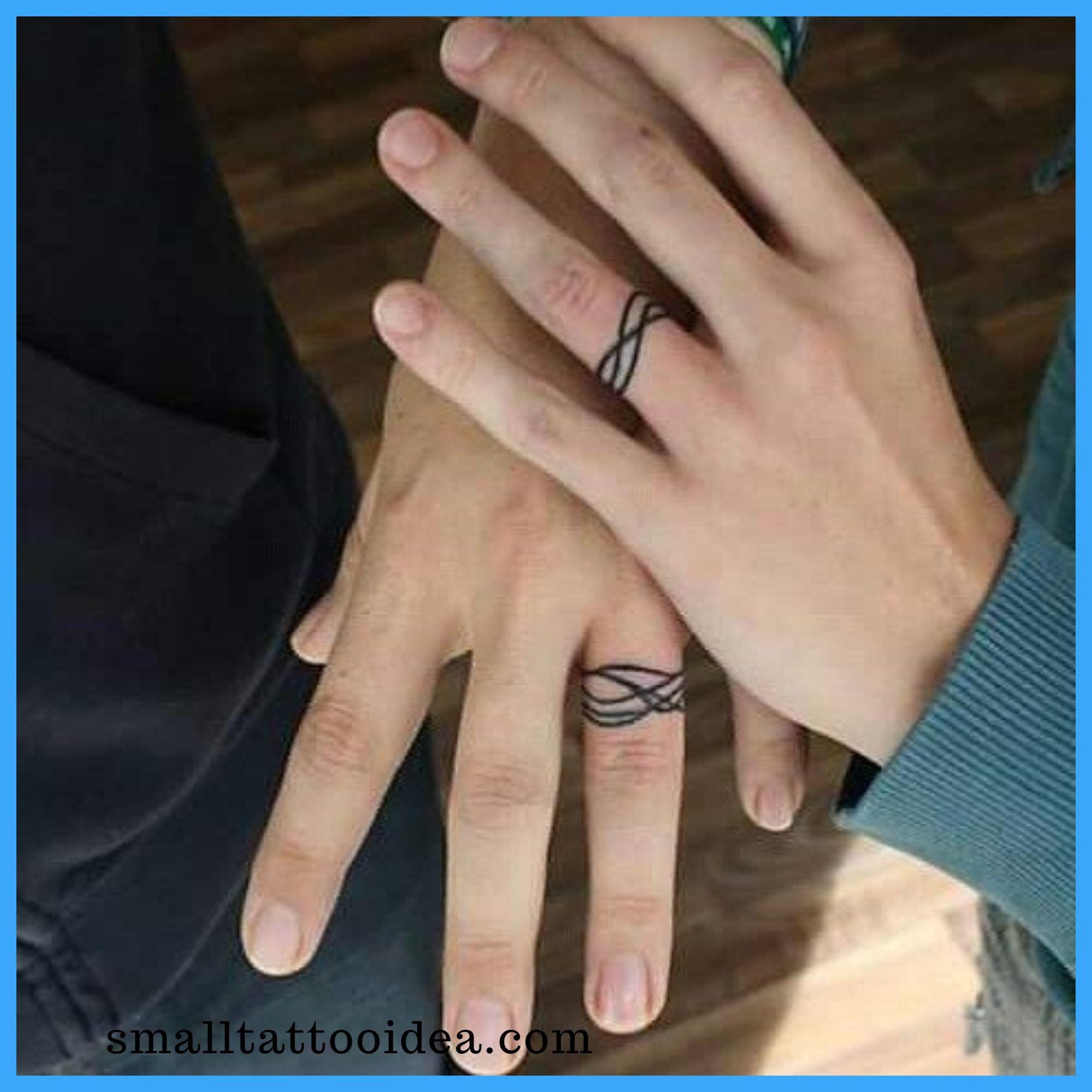 35 Unique Ring Tattoo Ideas Ring Tattoo Designs Wedding