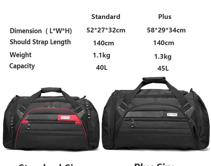a9f165945da0 Free shipping Bucbon 45l Large Multi-function Sport Bag Men Women ...