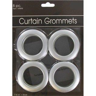 1 9 16 silver curtain grommets shop