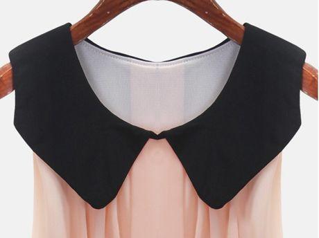 Chiffon Patchwork Fashion Dress
