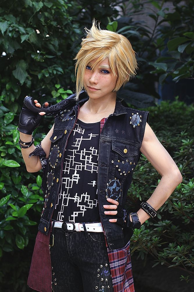 huayuehui(华月辉) Prompto Argentum Cosplay Photo - Cure WorldCosplay