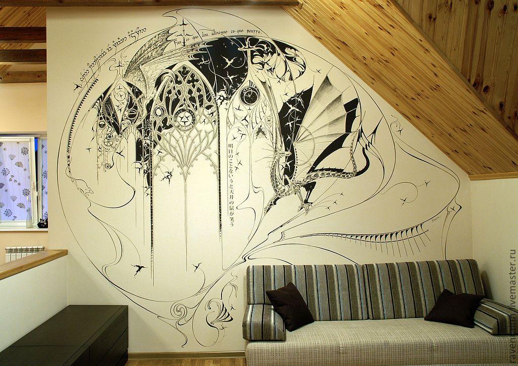Зодиака, картинка на стене рисунок