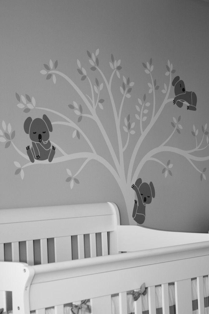 Baby Quot M Quot Modern Gray Nursery Habitaci 243 N Bebe Baby Room