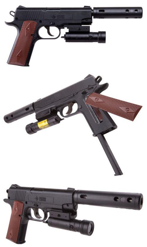 Air Rifles 178888: Crosman Tac 1911Bb Co2 Powered Semi-Auto