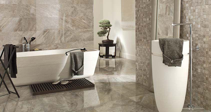 Porcelanosa S Stylish Tiles For Bathroom Floor Recife Gris