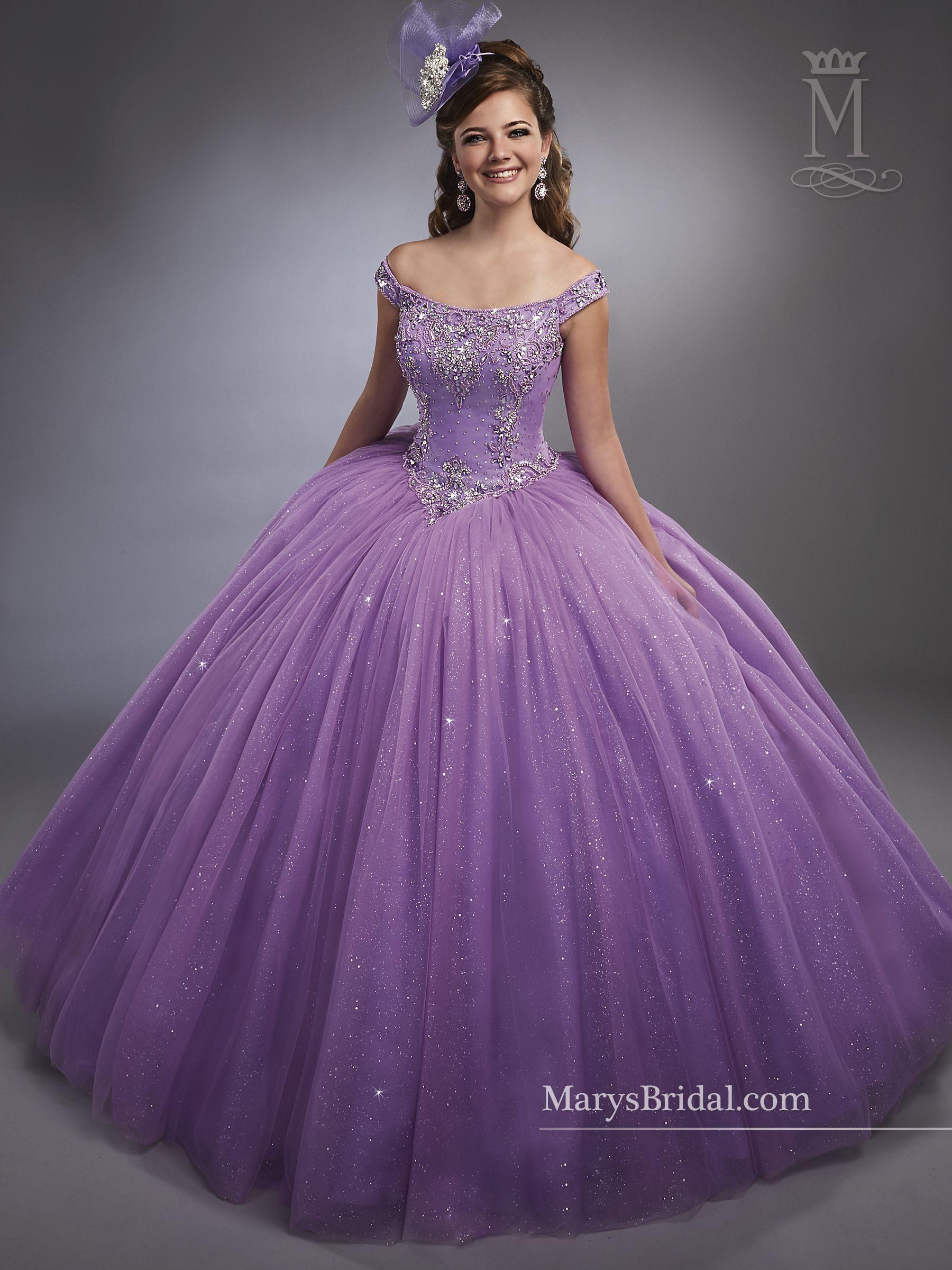 20 vestidos al hombro, para Quinceañera - Quinceanera ES | Gowns ...