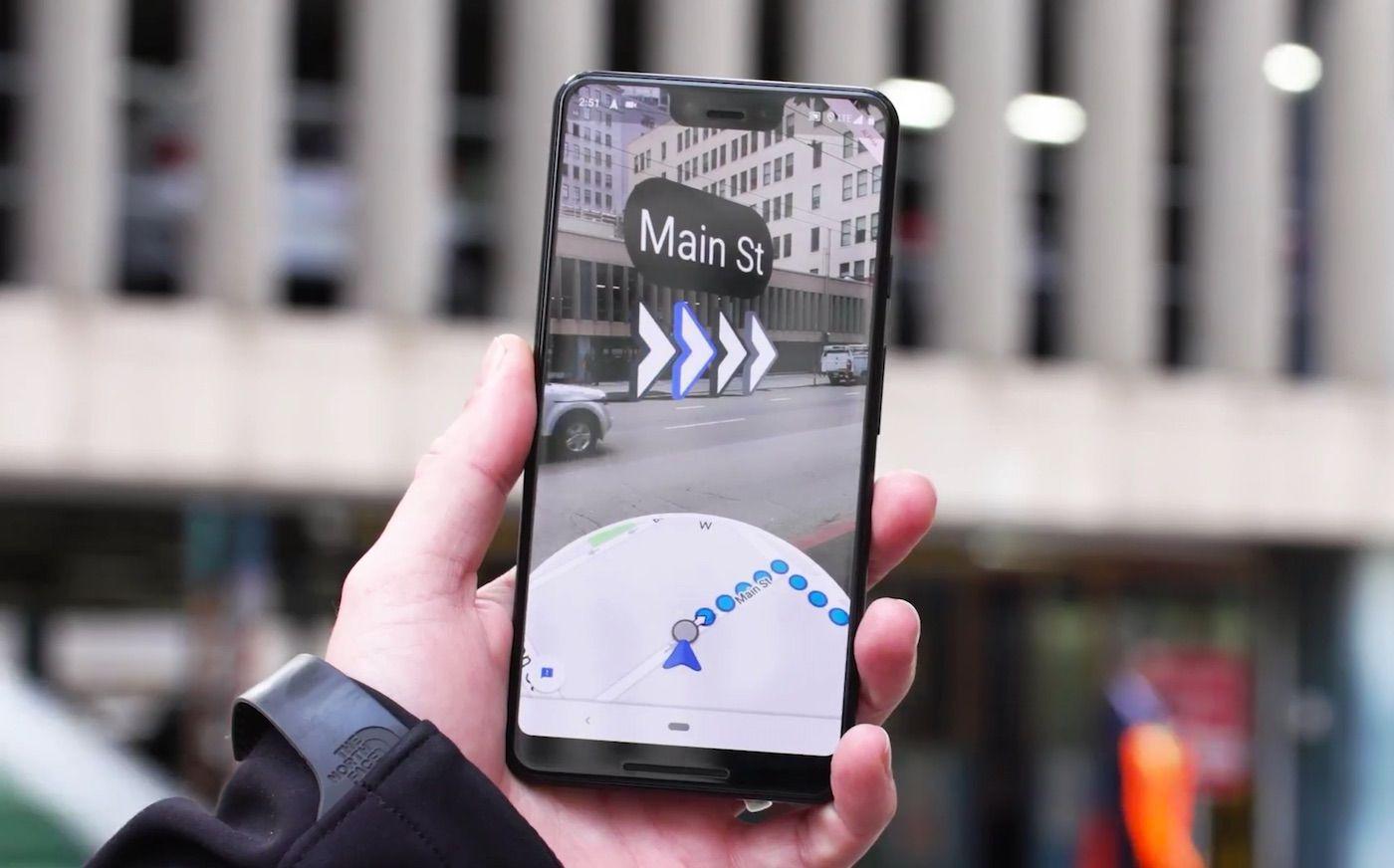 Google Maps sur iPhone ajoute la navigation en réalité