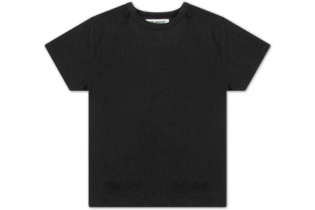 Off-White c/o Virgil Abloh Tonal Cornelly T-Shirt - Black