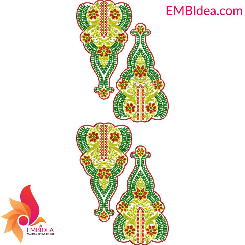 Multi Patch Embroidery Design Free Download From Embidea Patch