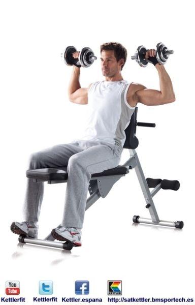 VARIO 7411-550 2  - Kettler es una empresa alemana dedicada a la fabricación de máquinas de fitness.  http://satkettler.bmsportech.es