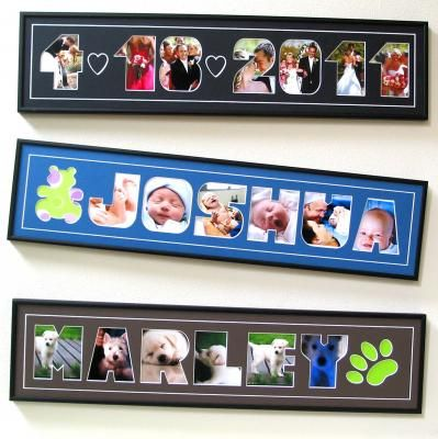 unique personalized photo name frames name that frame torrance ca - Name Picture Frames