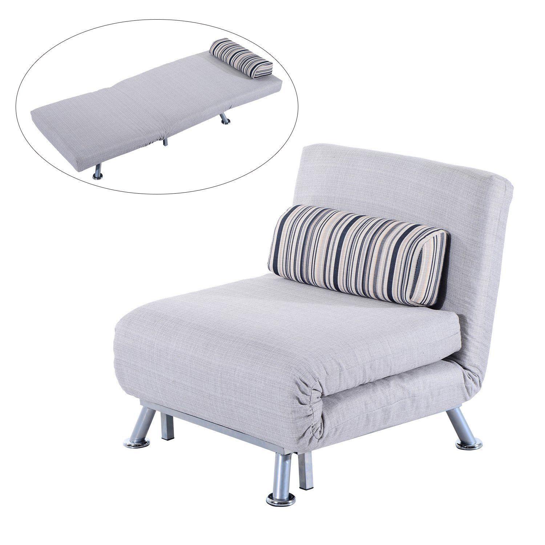 Futon Sofa Chair Bed Single