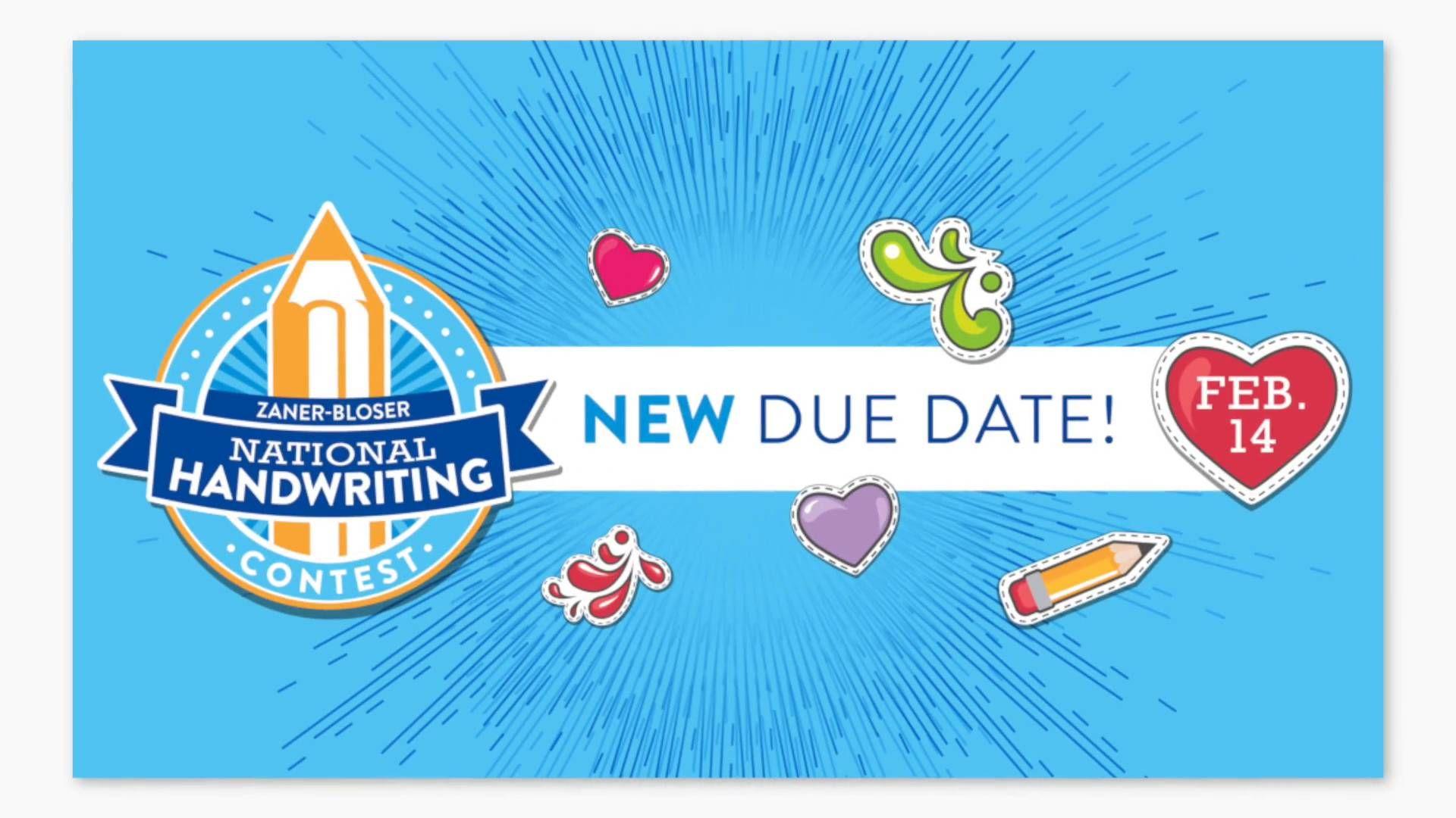 National Handwriting Contest