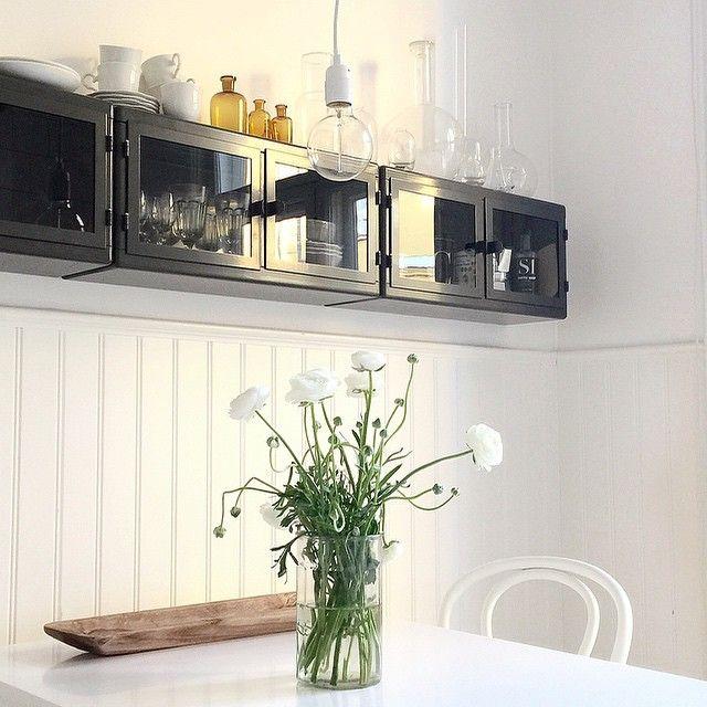 Ikea Raskog Wall Cabinets In Kitchen By Fouremptywalls