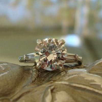 Vintage Wedding Rings Tumblr Platinumengagementrings