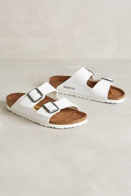ba28b7892648 yes love the just plain white goes with everything Birkenstock Sandals  White
