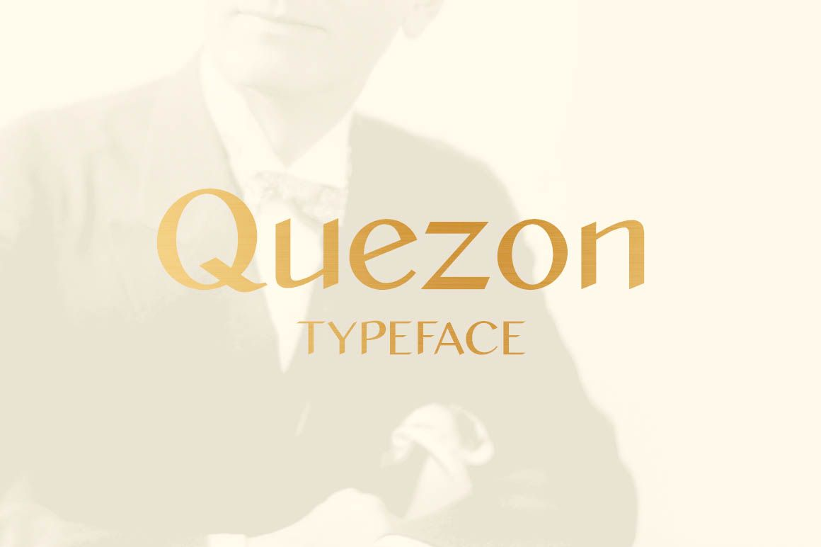 Free quezon font with extended license for commercial use