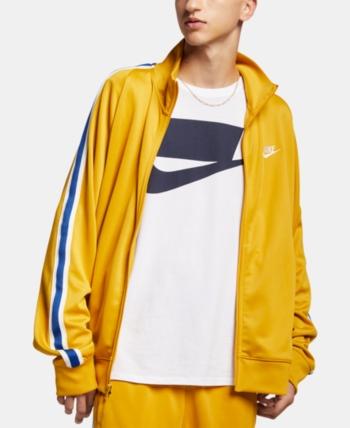 edd2f11b28ab Nike Men s Sportswear Track Jacket - Gold XXL