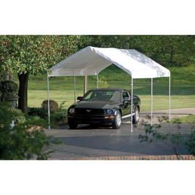 Shelterlogic Max Ap Canopy 10 Ft W X 20 Ft L X 9 1 2 Ft