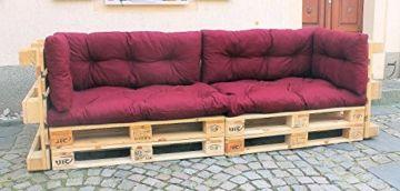 Palettenkissen U2013 6 Teiliges Set U2013 Für Sofa Oder Couch Aus Europaletten U2013  Palettenmöbel U2013 Weinrot Amazing Pictures