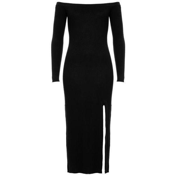 ROSA OFF SHOULDER DRESS ($91) ❤ liked on Polyvore featuring dresses, off-the-shoulder dresses and off shoulder dress