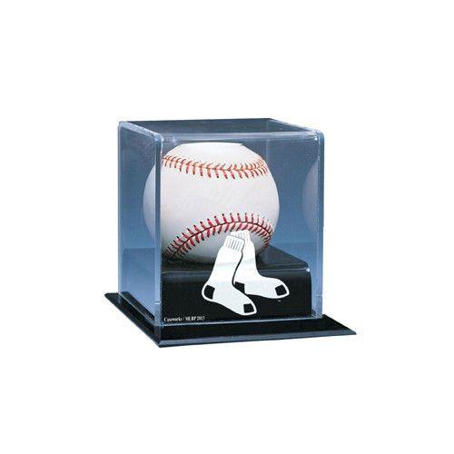 Boston Red Sox MLB Single Baseball Display