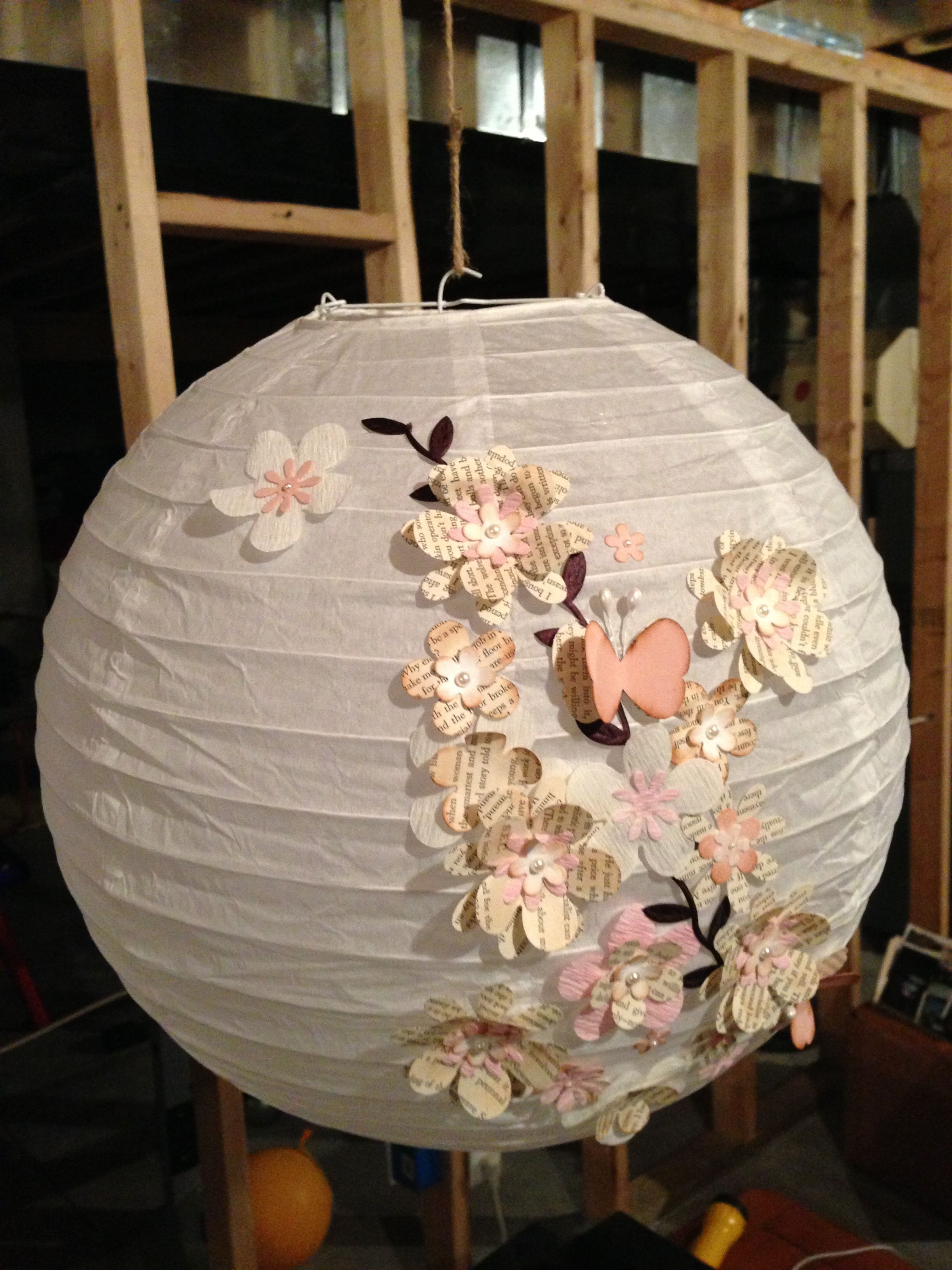 Here are my lanterns that will hang from the ceiling of my tent; at night they will glow!