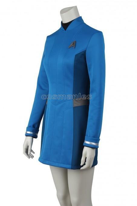 Star Trek Beyond Carol Marcus Blue Dress Cosplay Costume - Star Trek -  Movie costumes