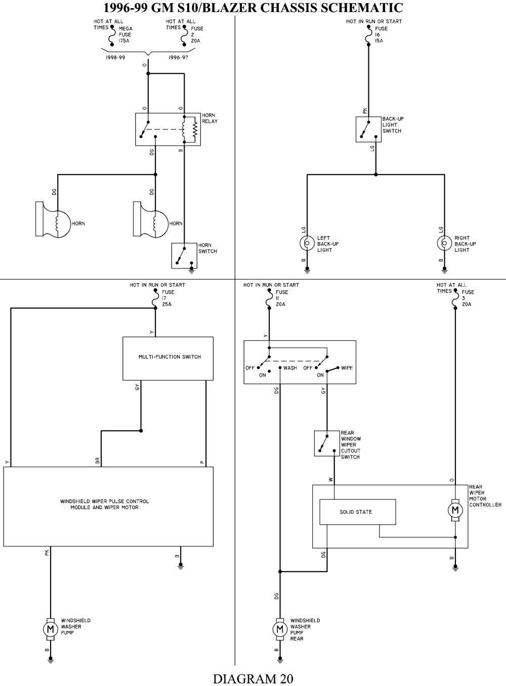 Awesome 2000 S10 Headlight Wiring Diagram di 2020 | 99 S10 Headlight Wiring Diagram |  | Pinterest