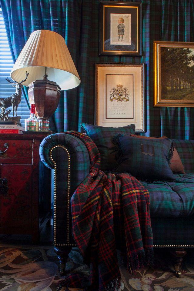 Tartan Plaid Love Classic Details In 2019 Home Decor