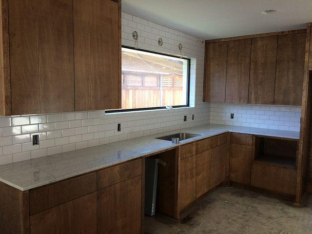 Fresh Unfinished Oak Cabinets Matte Black In the Kitchen