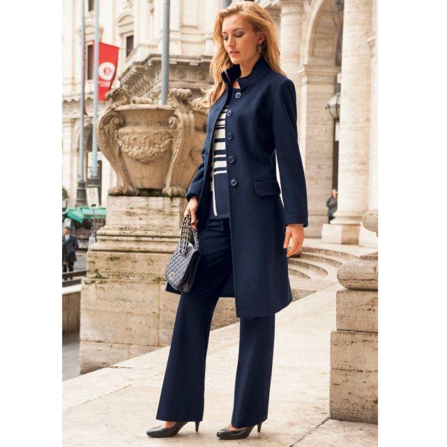 Manteau 60 Laine Anne Weyburn La Redoute Mode En 2019