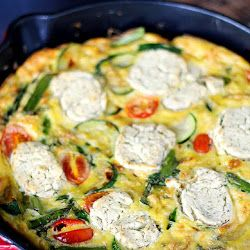 Spring Vegetable<br>Fritatta