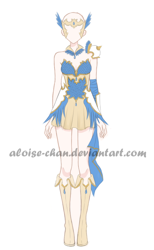 [OPEN] Greek Goddess Armour Adoptable by Aloise-chan.deviantart.com on @DeviantArt | Anime ...