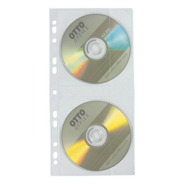 CD/DVD/Blu-ray-Schutzhüllen (140x287 mm)