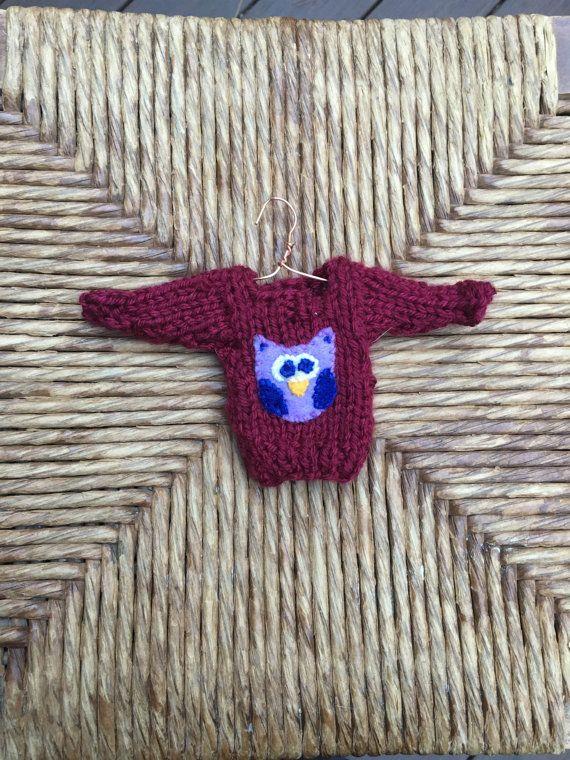 Owl I Want For Christmas Is You Owl Heart Gift Xmas Ugly Sweatshirt