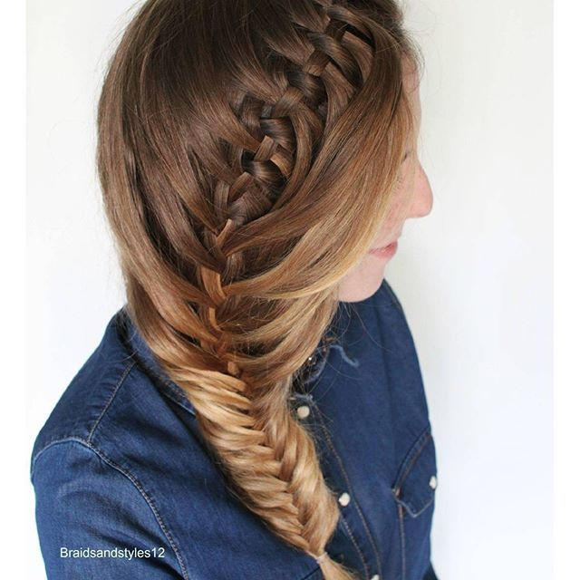 Braidsandstyles12 | Hair style, School hairstyles and Diy hair