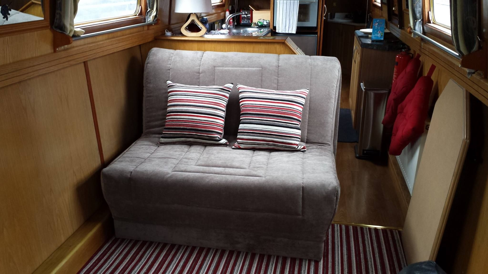 Clio Sofa Bed With Fully Removable Quilt Cover And Storage