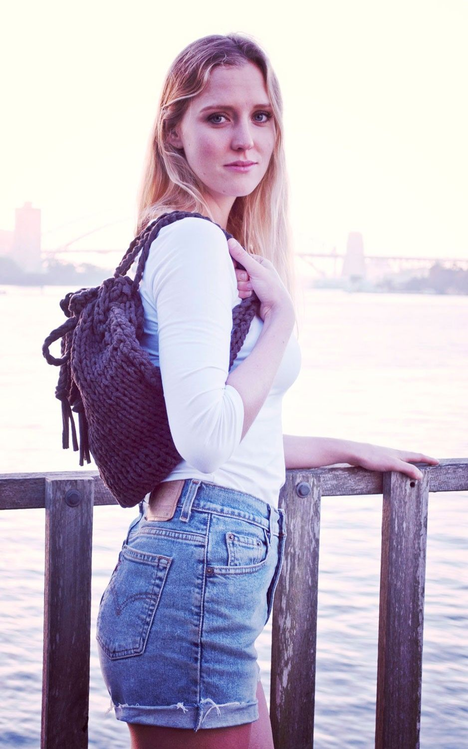 Brone back pack | WE ARE KNITTERS