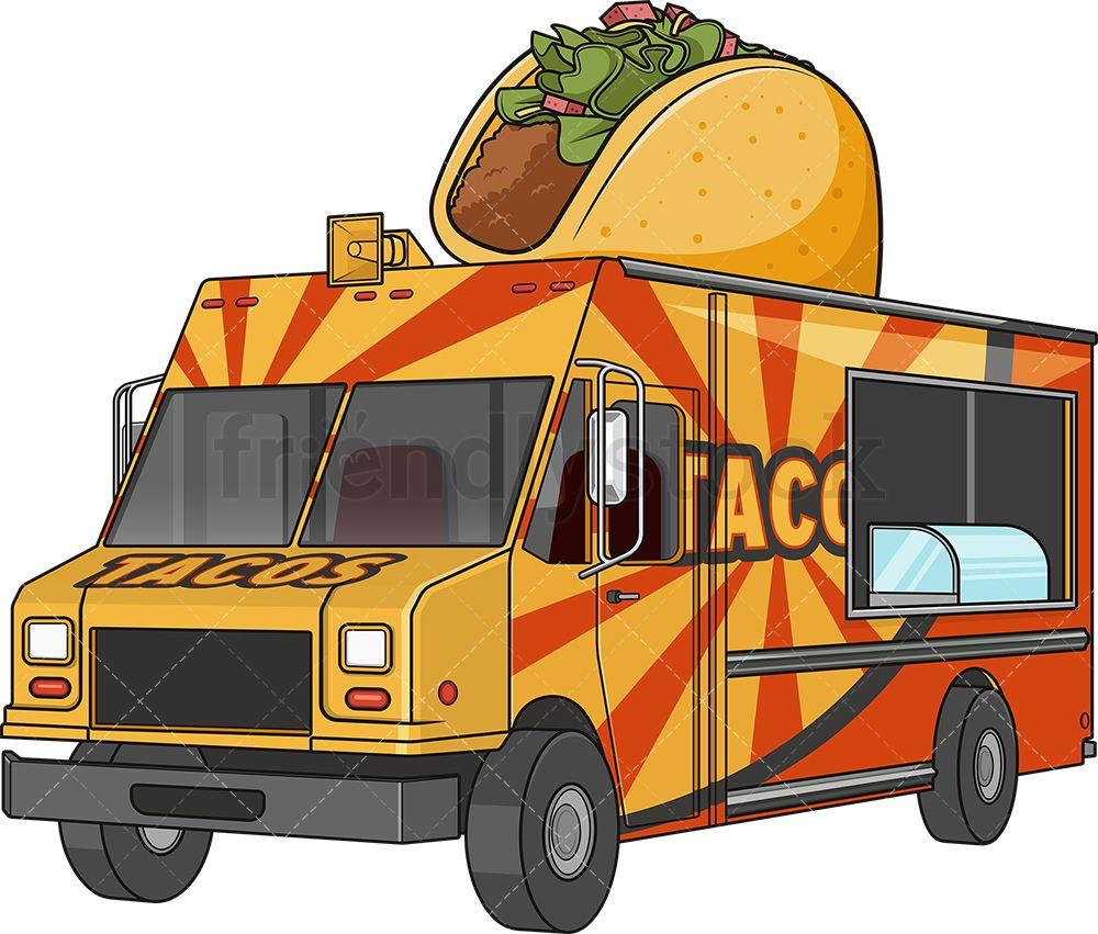 Taco Food Track In 2020 Taco Food Truck Taco Recipes Food