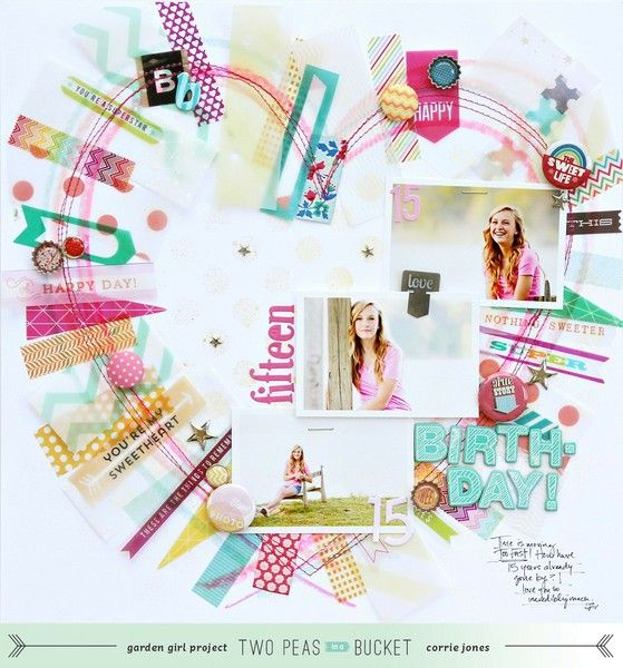 213 in 2013 video tutorial.  @Corrie Traxler Traxler Traxler Traxler Jones presents four creative prompts:   1. Try out an art supply.  2. Don't be worried when you need to start over.  3. Use something see thru.  4. Decorate with flair!