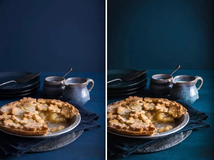 How to edit food photos