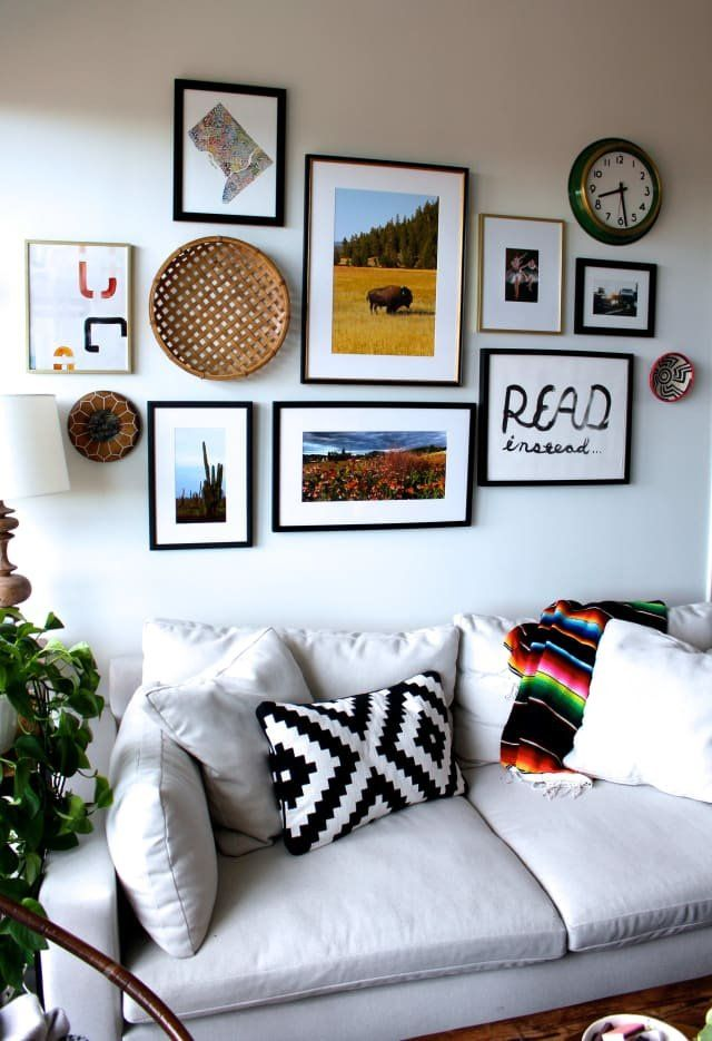 A Bake Shop Owner's D.C. Apartment Is Small But Sweet #livingroom
