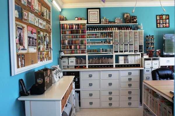 Scrapbook Room Ocd Organizing Ideas Pinterest
