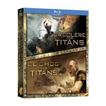 Le Choc Des Titans La Colère Des Titans Coffret Blu Ray