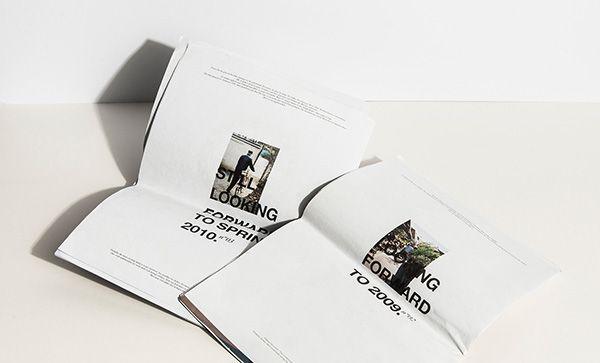 Andy Wolf Eyewear - Magazines by Julia Klinger, via Behance